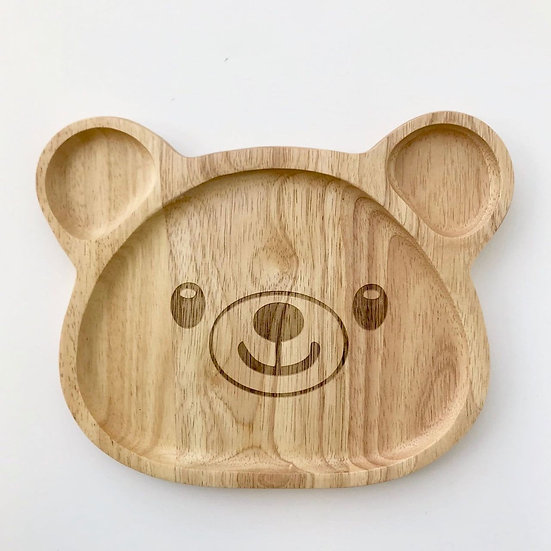 Pure & Dimple Large Bear Plate