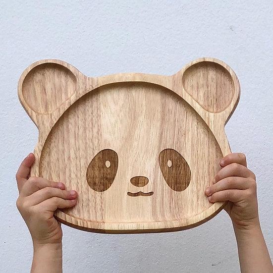 Pure & Dimple Panda Plate
