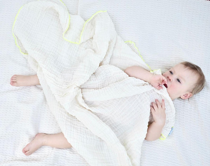 Pure & Dimple Organic Swaddle Blanket