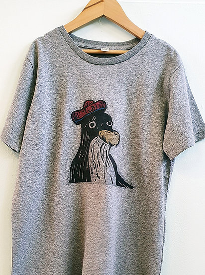 PRP Kids Tee Grey Penguin
