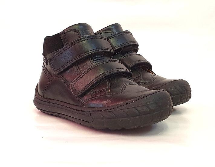 Froddo Black Leather School Boots