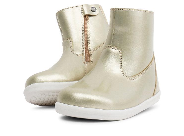 Bobux IWalk Gold or silver Paddington Boot