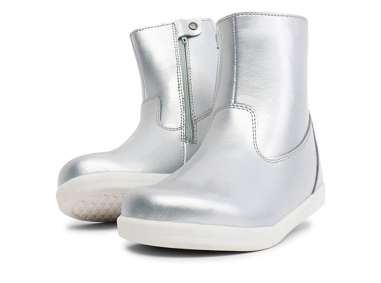 Bobux KP Paddington Boot Silver