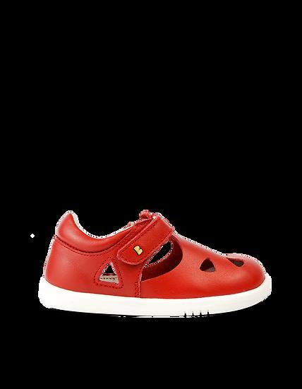 Bobux IWalk Zap Sandal Red