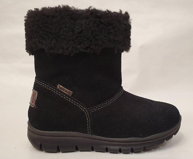 Primigi Black suede pixie boot