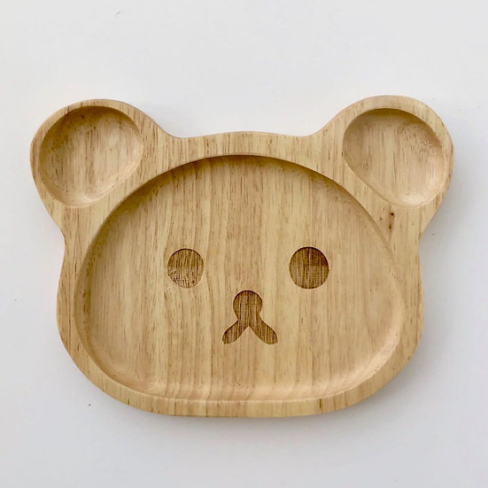 Pure & Dimple Baby Bear Plate