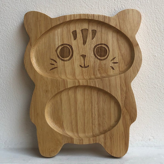 Pure & Dimple Cat Plate