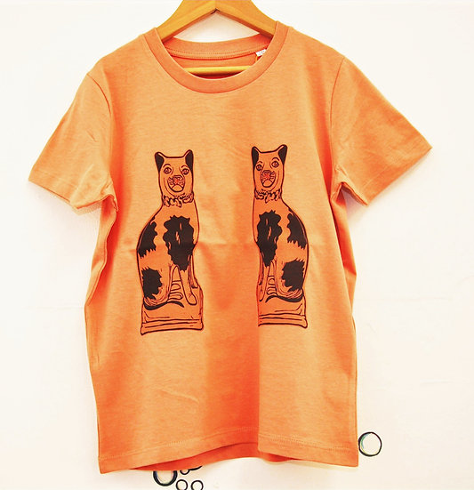 PRP Kids Rose Clay Tee - Cats