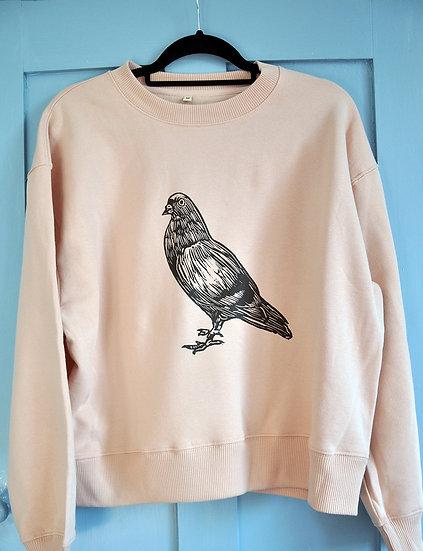 PRP Women's drop shoulder Sweatshirt (Pigeon or Magpies))