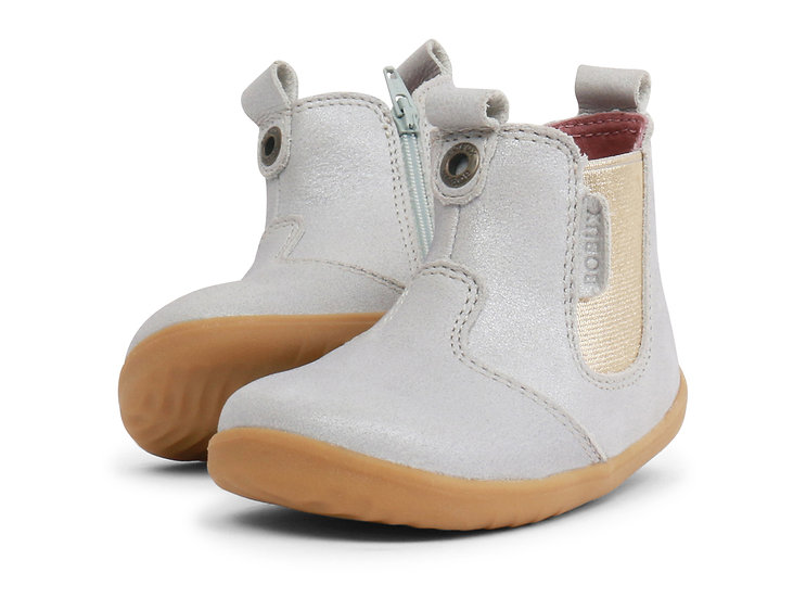 Bobux Step Up Silver Jodphur Boot