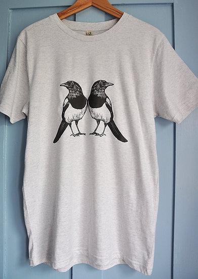 PRP unisex classic jersey t-shirt Melange Grey