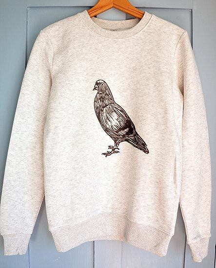 PRP Unisex Sweatshirt (Pigeon) ex small