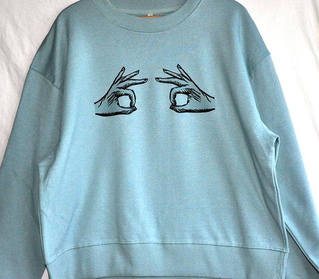 PRP x MH A-OK Adult Drop Shoulder Sweatshirt