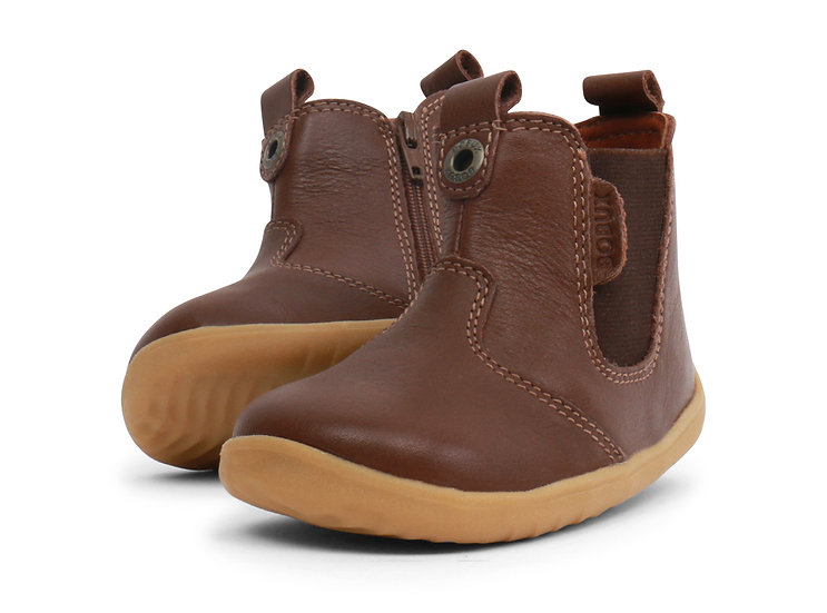Bobux Step Up Brown Jodphur Boot