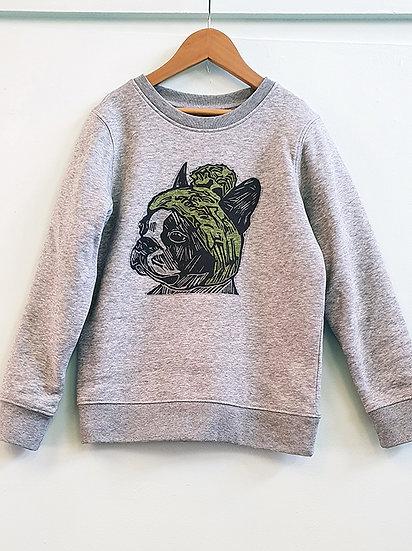 PRP Kids Sweatshirt Frenchie Grey