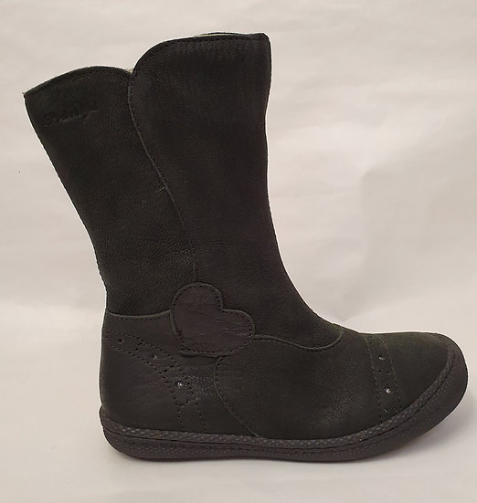 Primigi Buff leather black calf boot