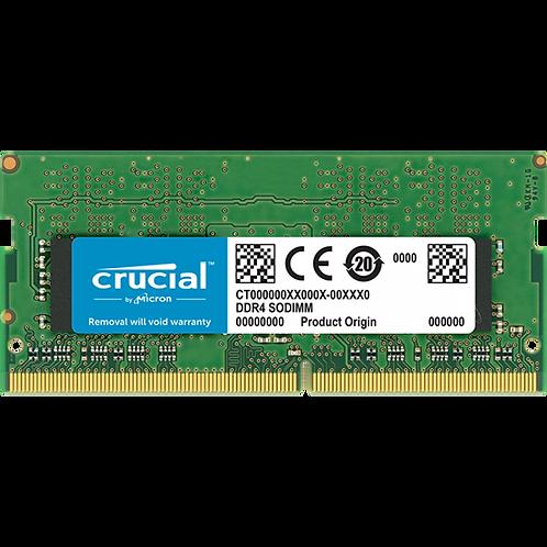 Crucial 16GB DDR4 2400 MHz PC4-19200 CL15 Laptop & NUC RAM CT16G4SFD824A