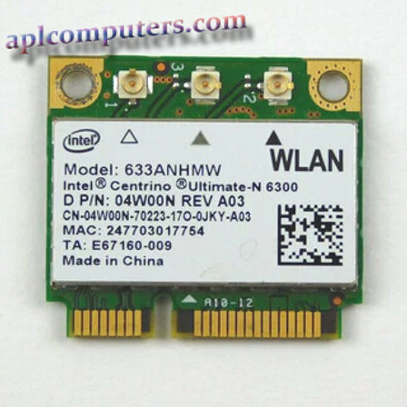 Dell Latitude 6220 Laptop wifi Card