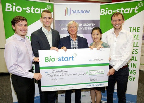CustoMem wins £100K 1st Prize in Bio-start competition