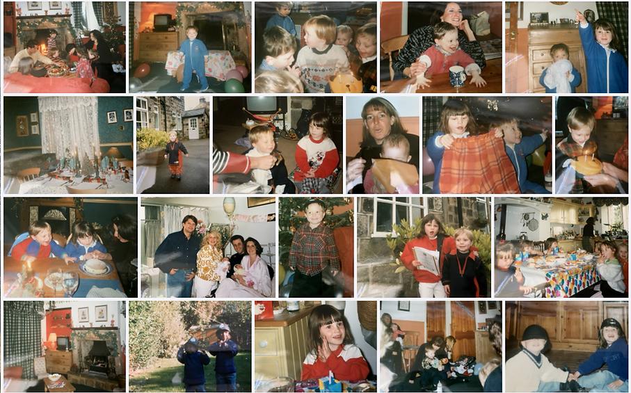 A digital family photo album