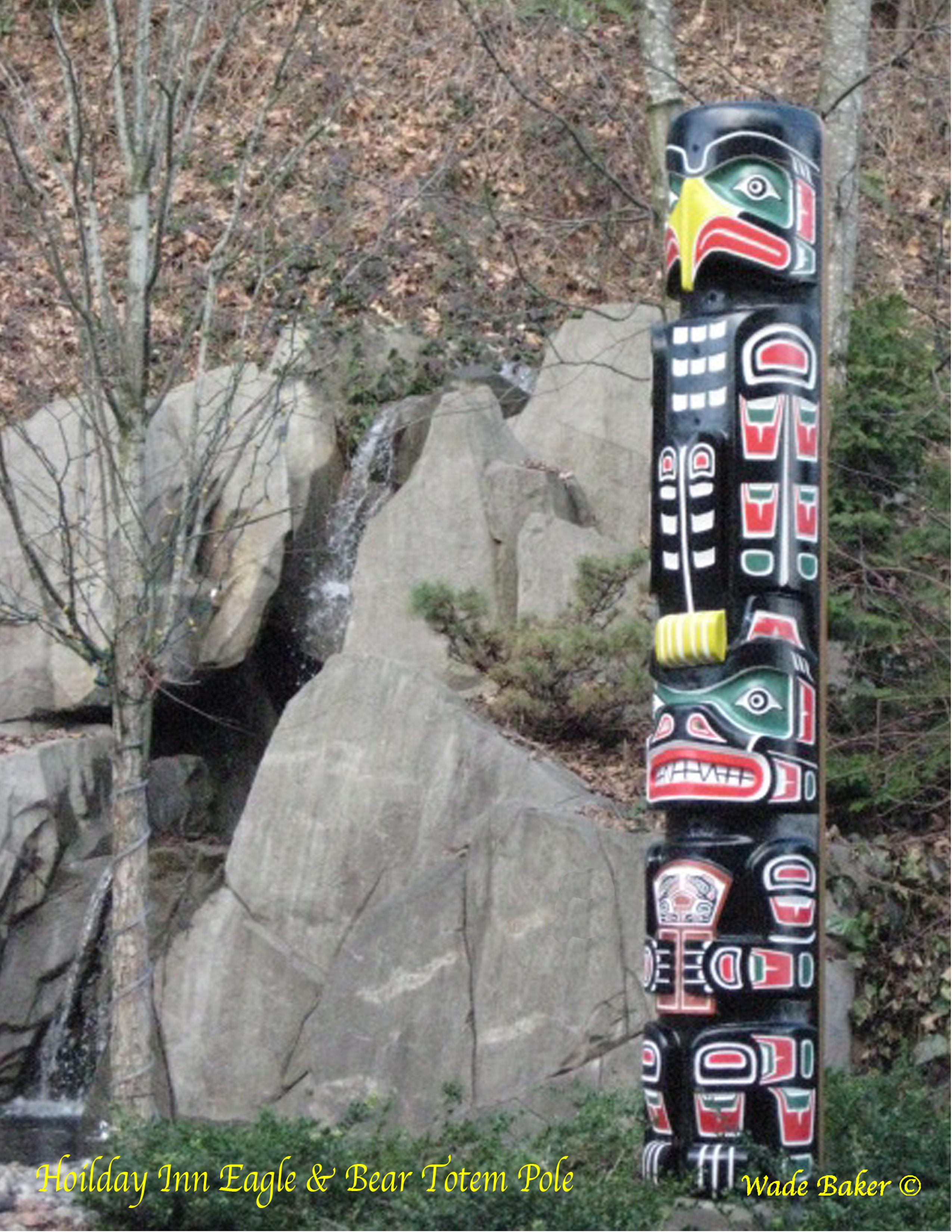 Eagle-Bear Totem