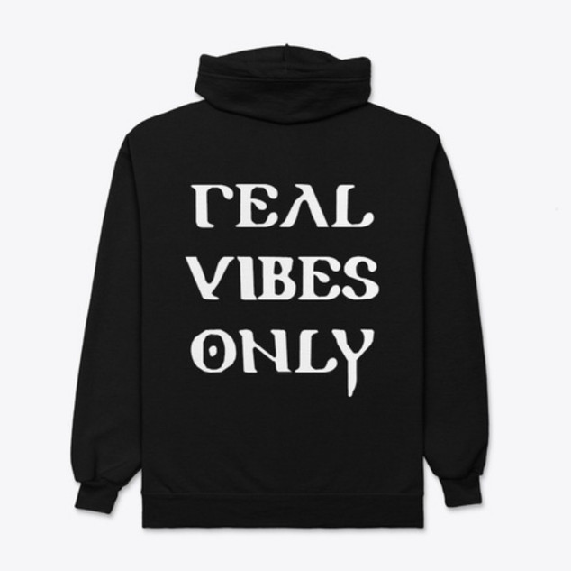 Real Vibes Only Hoodie