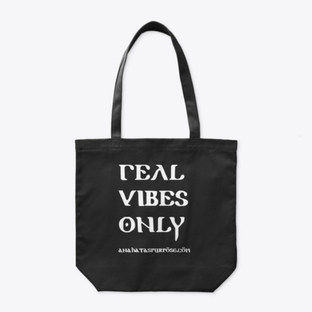 Real Vibes Only Tote