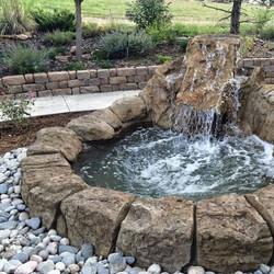 backyard-waterfall-stone-pond