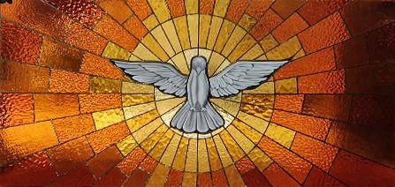 Holy Spirit Dove Panel