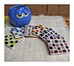 Mini Mosaic Coasters