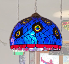 Peacock Lampshade