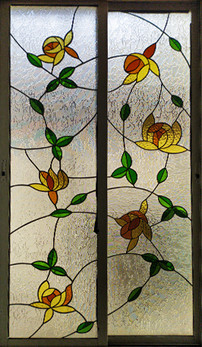 Floral Window Panles