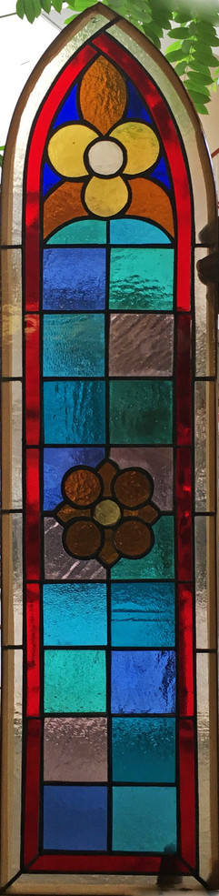 Church Victorian stained glass window