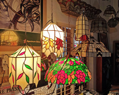 Lampshades At Our Studio