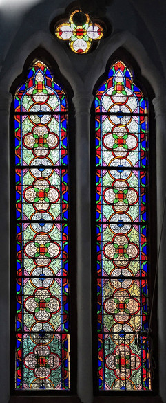 Restoration of Church stained glass windows Ooty