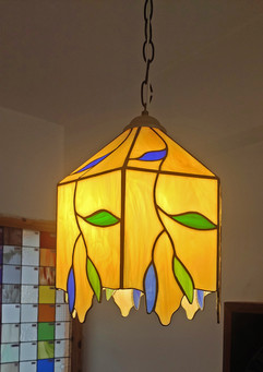 4 Sided Panel Lampshade