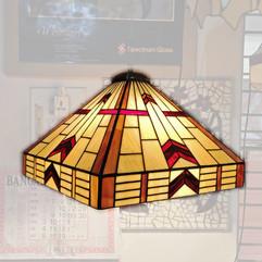 Frank Lloyd Wright Style Geoometric Lampshade