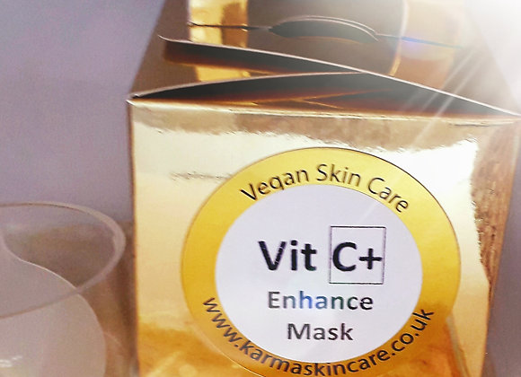 Vit C+ Enhance Face Mask