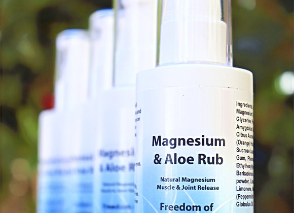 Magnesium & Aloe  Vera Rub