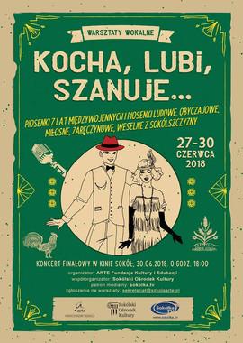 plakat warsztatów w Sokółce