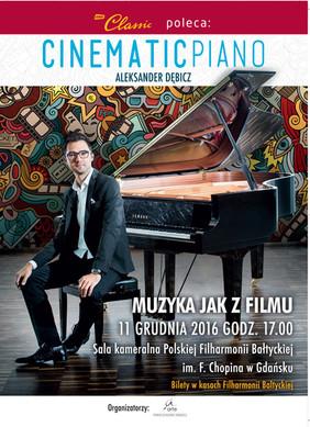Cinematic Piano koncert w Gdańsku