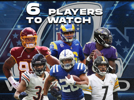 Six Players to Watch: Wild Card Weekend