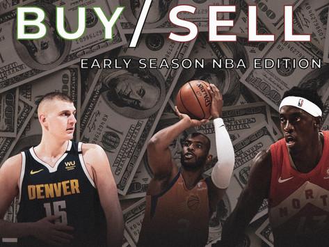 Buy/Sell: Early NBA Season Edition