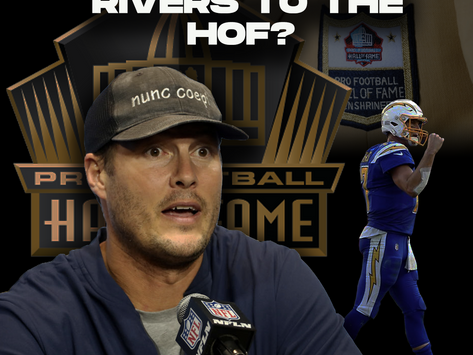 Should Phillip Rivers Make the Hall of Fame?
