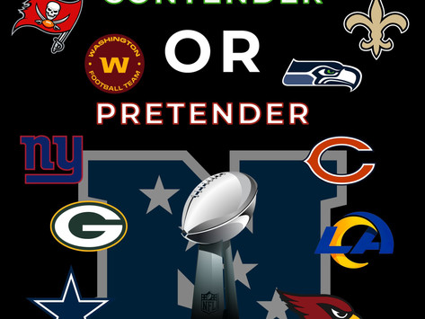 Pretenders and Contenders: NFC Edition