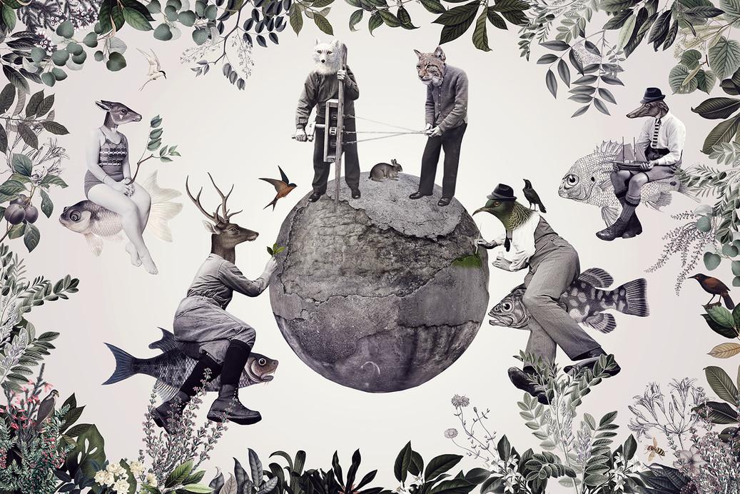 LET'S MAKE WORLD GREEN AGAIN ©2019