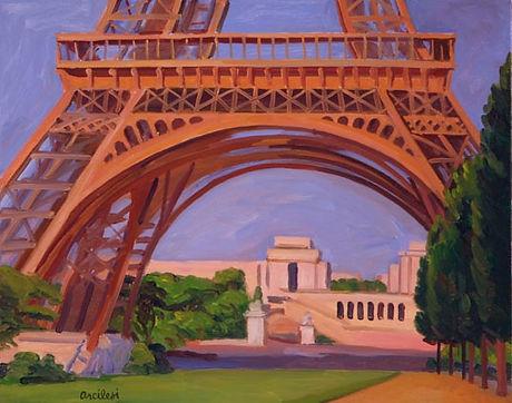 Tour Eiffel II Vincent Arcilesi 1997 16