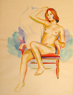 Arcilesi, Nude Watercolor