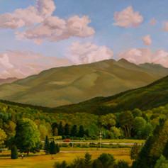 """Keene Valley in the Adirondacks"""