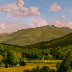 Keene Valley in the Adirondacks_Oil on canvas_42 x 60_Arcilesi.jpg